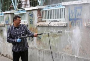profi Graffiti odstraňovanie